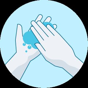 Frottez-vous les mains soigneusement